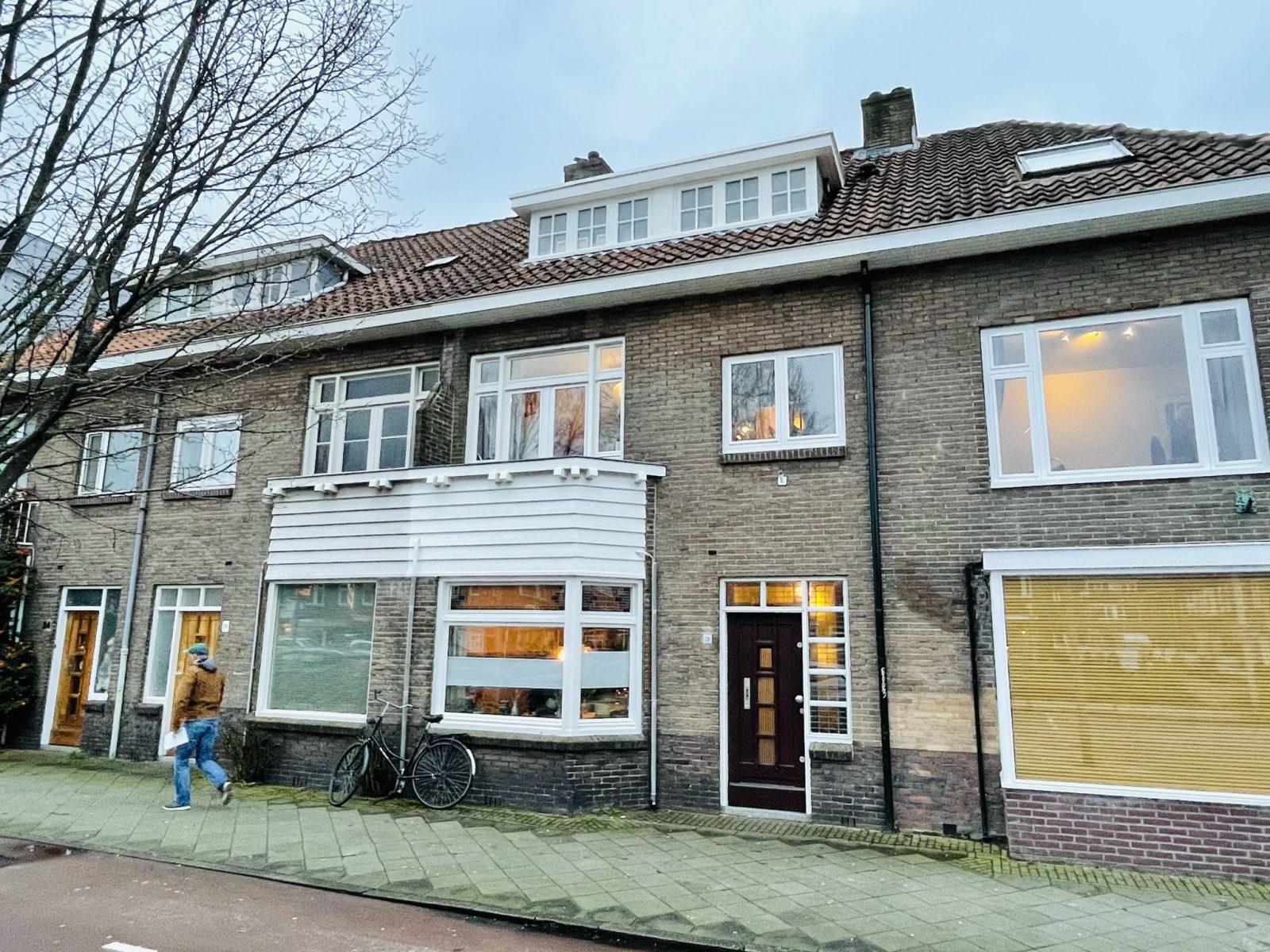 Voorgevel Utrecht